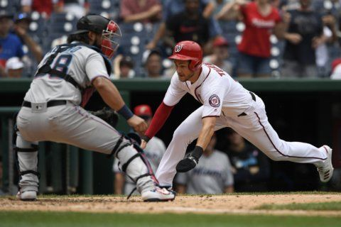LEADING OFF: Nationals look to stay hot versus Royals