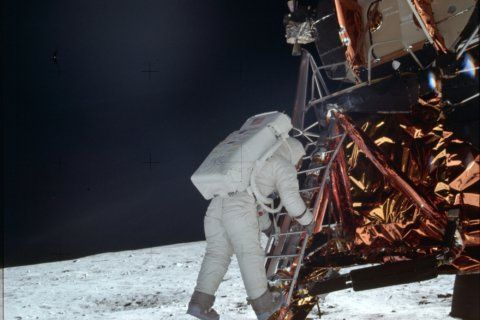 In Md., NASA scientists look back — and forward — on 50th anniversary of moon landing