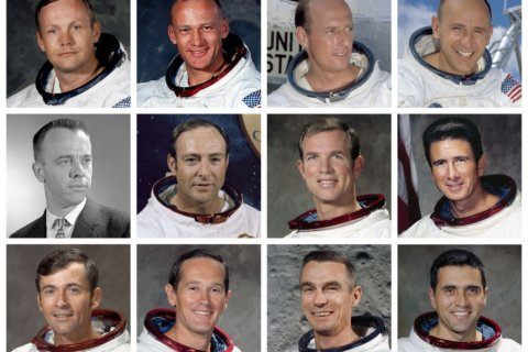 Armstrong, Aldrin were first of 12 men to walk on the moon