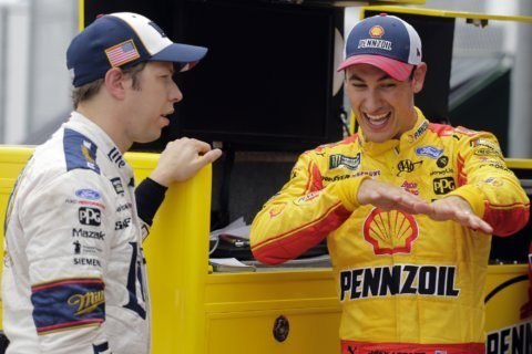 Logano lands Daytona pole after qualifying gets canceled