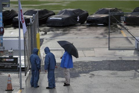Rain postpones NASCAR's final holiday visit to Daytona