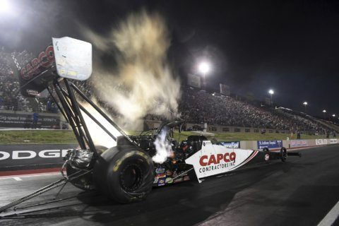 Torrence takes No. 1 spot at Mile-High NHRA Nationals