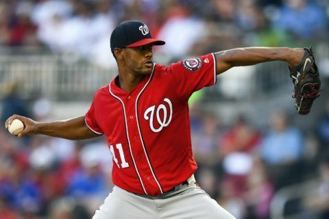 Gausman makes strong return from IL as Braves beat Nats 7-1