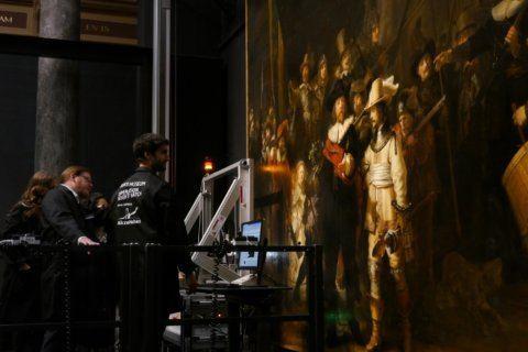 Research, restoration begins on Rembrandt's 'Night Watch'