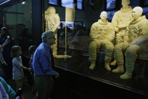 State fair remembers moon landing with butter astronauts