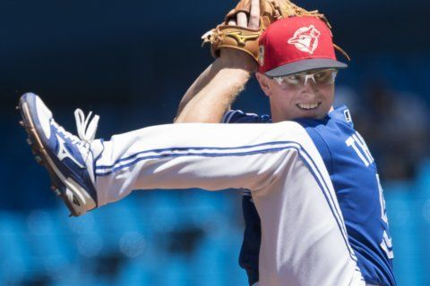 Thornton pitches 6 shutout innings, Jays beat Orioles 6-1