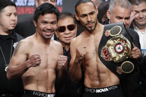 Thurman looks to end Pacquiao's resurgent career in showdown