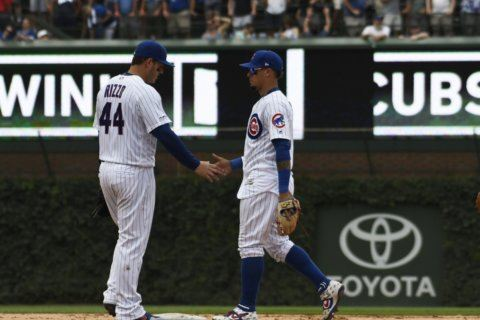 Boy asks for homer, Rizzo hits slam as Cubs beat Padres 6-5
