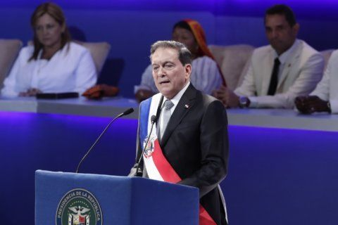 Cattleman Laurentino Cortizo sworn in as Panama's president