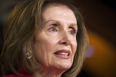 Pelosi implores Democrats to unify, warning of dangers ahead
