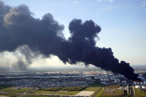 Cleanup continues after Texas petrochemical fire in March