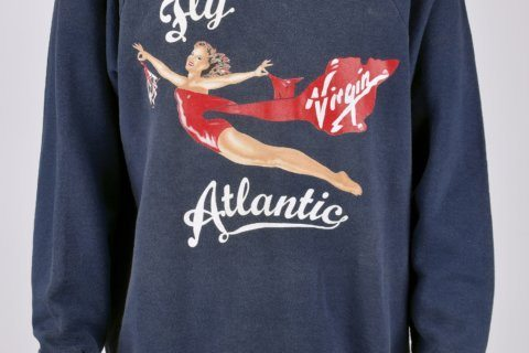 Look like a princess: Diana's workout sweatshirt for sale