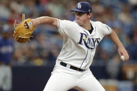 2-way player McKay making hitting debut with Rays