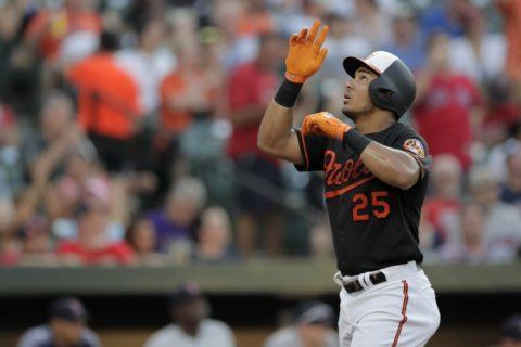 Orioles hit 2 HRs off Price, cruise past Red Sox 11-2