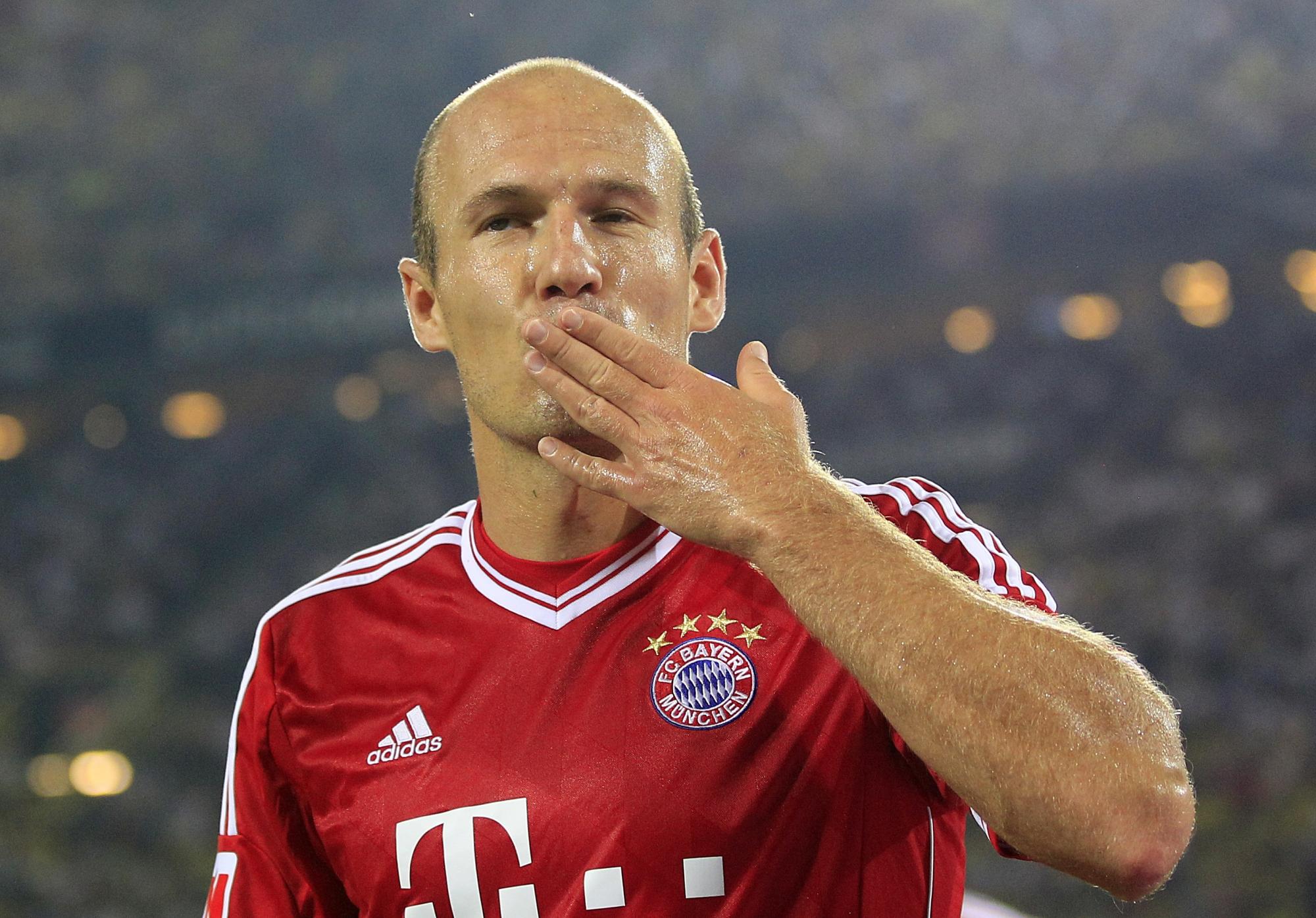 "Bundesliga | ""Joining Bayern Munich the best decision of ...  |Arjen Robben"