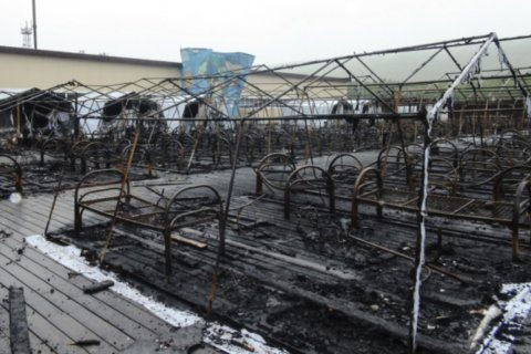 Tent camp fire in Russia kills 4 children; owner detained