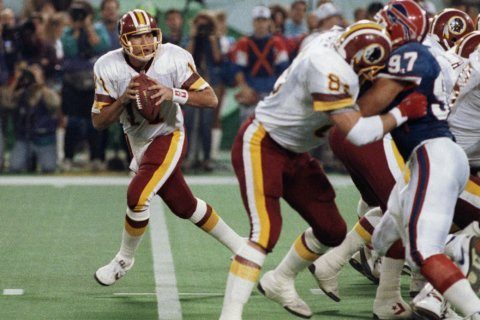 The Latest: Super Bowl MVP Mark Rypien pleads not guilty