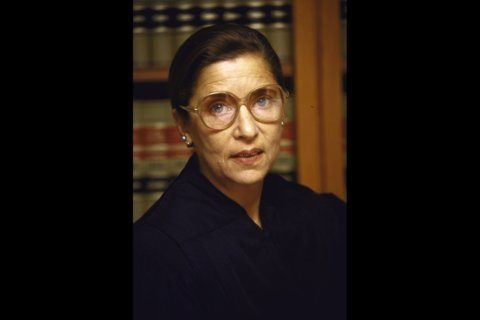 Ginsburg reflects on marriage and the state of women's equality at DC event