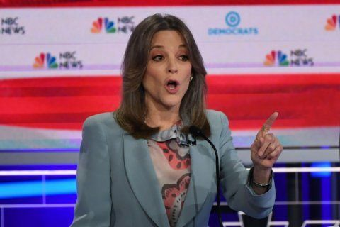 Marianne Williamson was left out of a photo shoot of the women running for president. So she edited herself in