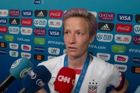 NYPD investigating vandalized Megan Rapinoe posters as possible hate crime