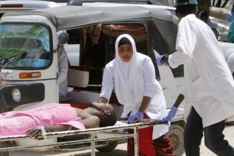 Car bomb blasts Somalia's capital near airport; 10 killed