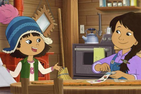 Alaska Native girl leads animated kids TV show in US first