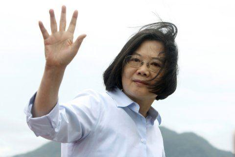 Hong Kong protests may give Taiwan's leader a boost vs China