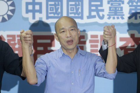 Taiwan party picks mayor over ex-Foxconn chief for 2020 run