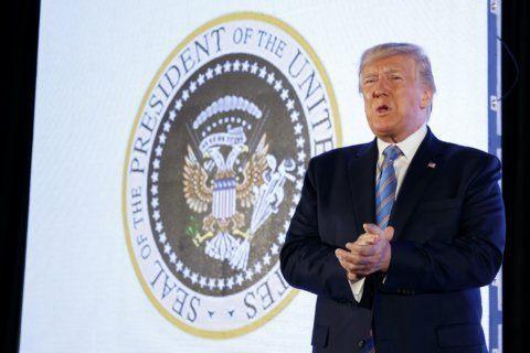 Virginia man created parody presidential seal mocking Trump