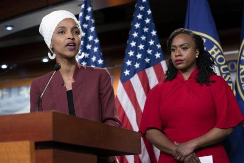 AP FACT CHECK: Trump falsely claims Omar praised al-Qaida