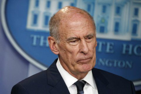 Trump says Coats is out as national intelligence director