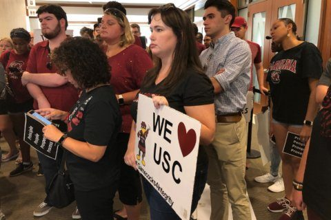 New USC leader learns to listen and choose words carefully