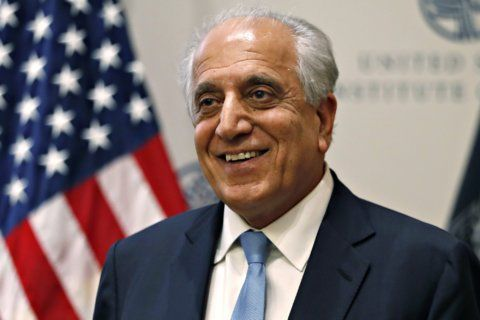 Envoy to Afghanistan says US not 'cutting and running'