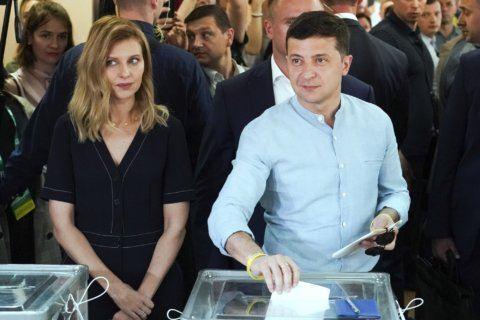 The Latest: Ukraine's president outlines main priorities