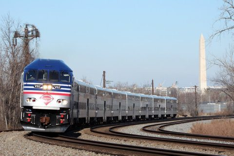 Delays cleared at Union Station after disabled train snarled Amtrak, VRE