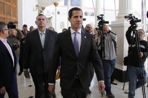 Greece recognizes Venezuela's Guaido as interim president