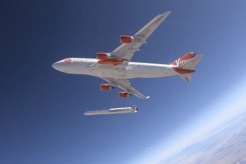Virgin Orbit in launch deal with UK's Royal Air Force