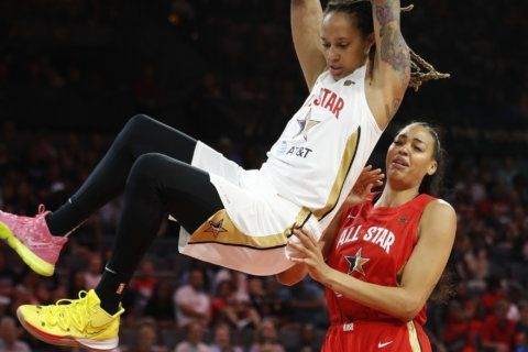 Wheeler leads Team Wilson to win at WNBA All-Star Game