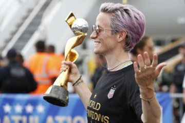 WATCH: US Women's World Cup championship parade