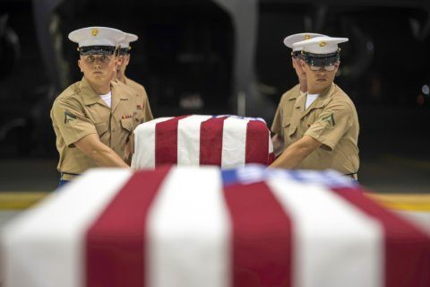 US military brings back remains from World War II battle
