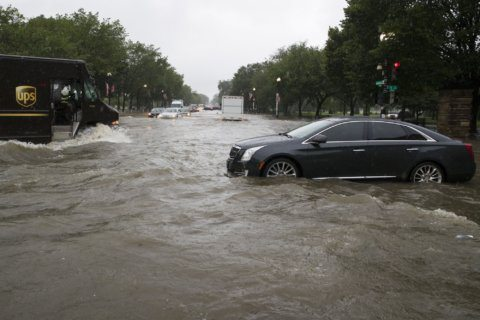 Car flooded from Monday's rain? It's likely insured