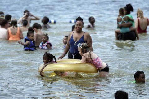 More than 150 million will be in stifling heat this weekend