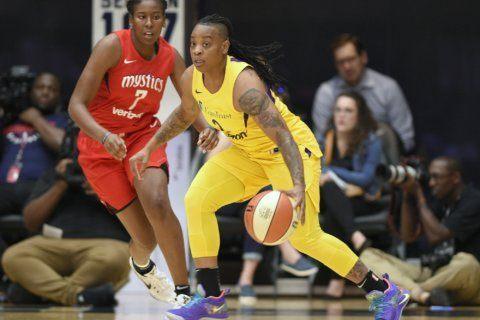 WNBA suspends Riquna Williams 10 games for domestic violence