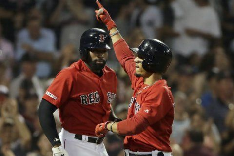 Betts hits 3 homers off Paxton as Red Sox rout Yankees again