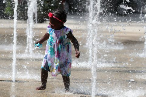 DC area bakes under excessive heat warning; 'even hotter' Saturday