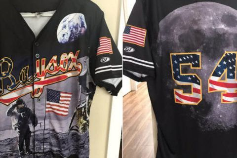 Bowie Baysox' moon-landing uniforms are a blast