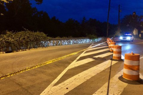 Sinkhole repairs close Canal Road in Northwest DC