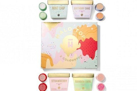 ColourPop, Halo Top Creamery team up for makeup collab