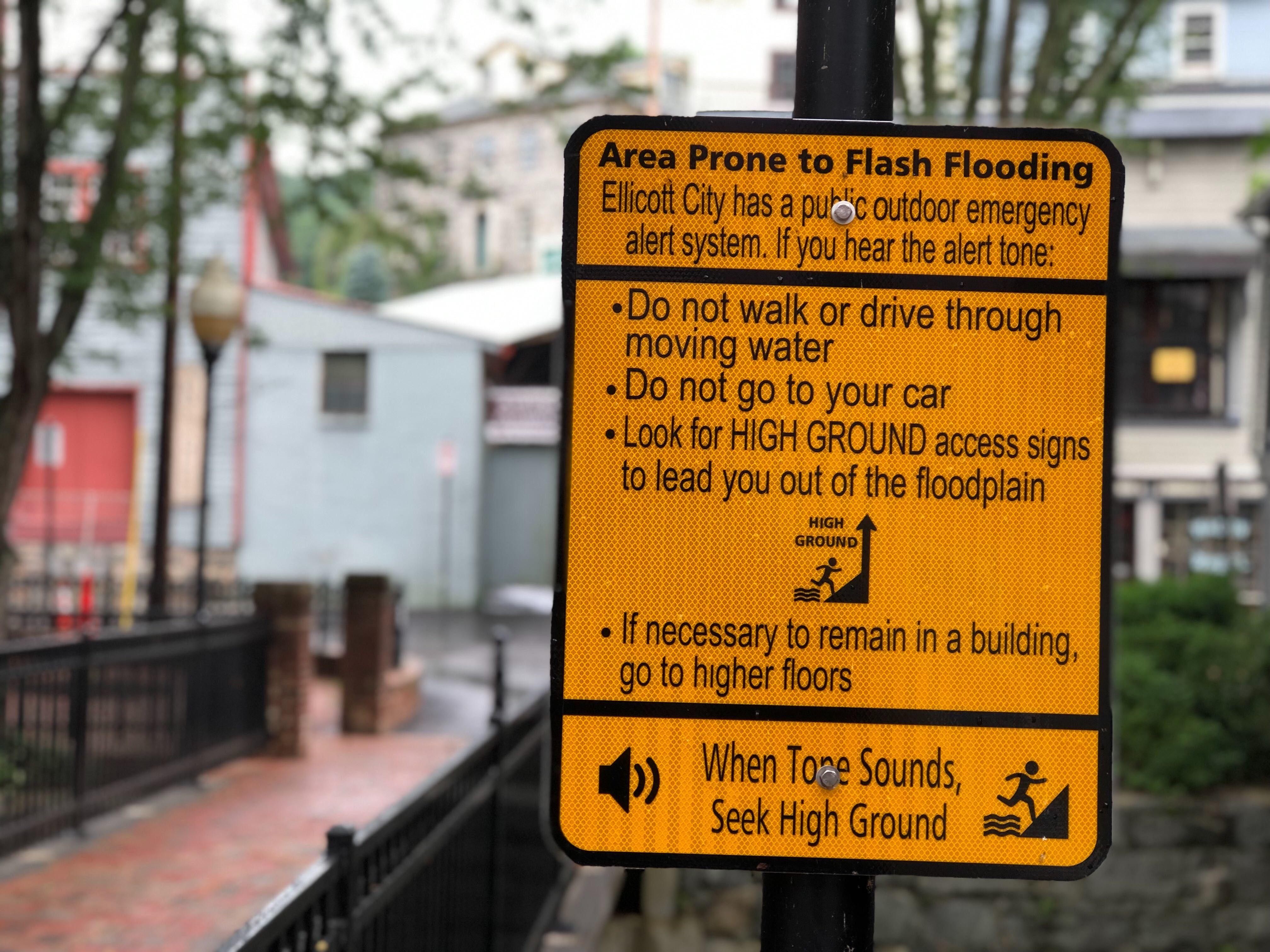 Howard Co 's flood warning notification fell short, Ellicott City
