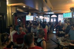 One soccer fan said she recently returned from France, and people in the tournament's host nation were just as excited about the games as they are in the U.S. (WTOP/Keara Dowd)